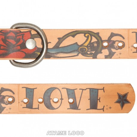 Collar LOVE & HATE Atame Loco
